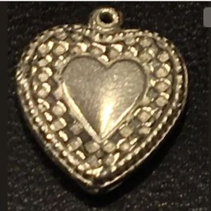 Jewelry - HEART LEGITIMATE SOLID STERLING 925 CHARM/PENDANT